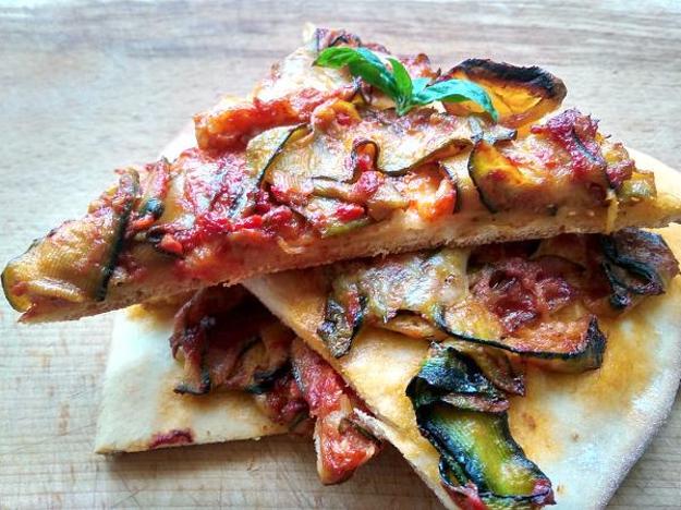 Zeleninová pizza