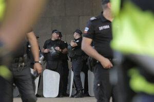 Bulharskí policajti