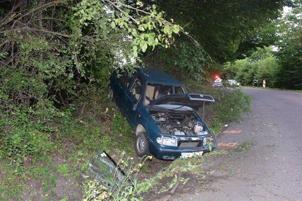 Foto z miesta nehody.