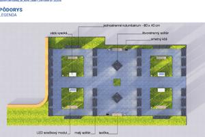 Jedna z vizualizácií, ktorú prezentovala radnica.