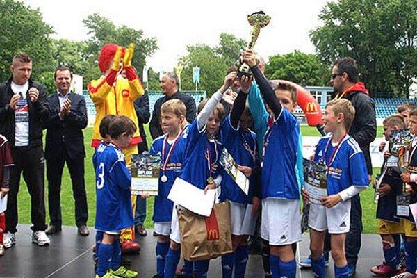 V Nitre bolo finále McDonald's Cupu aj pred dvoma rokmi.