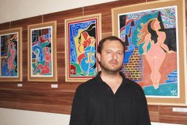 Výstavu Lea Vaniša Obrazy môžete v Nitre vidieť do 1. júla.