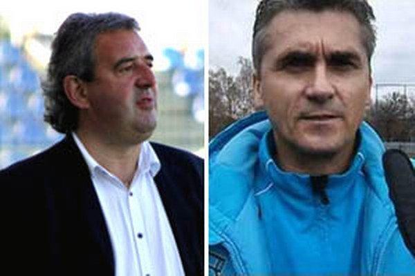 Peter Gergely (vľavo) a Pavol Bartoš budú pôsobiť vo futbalovom klube v Šali.