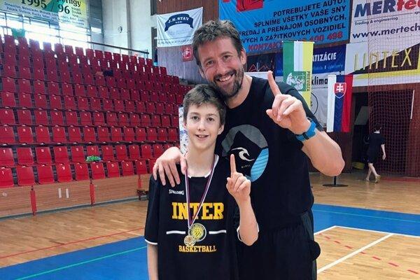 Martin Rančík so synom Sebastiánom
