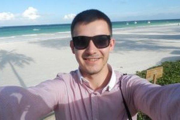 František Balogh - selfie z africkej pláže.