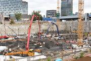 Výstavba projektu Eurovea .