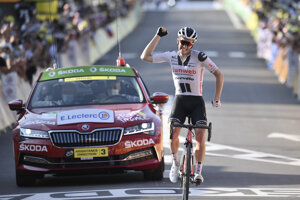 Soren Kragh Andersen vyhral 19. etapu na Tour de France 2020.