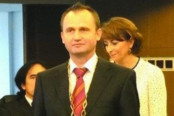 Súčasný primátor Galanty, Peter Paška.