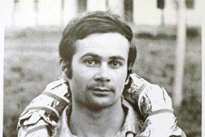Máj 1974 - pretek automobilov do vrchu. Ľ. Dóka získal 1.miesto.