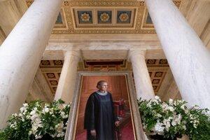 Rozlúčka so sudkyňou amerického Najvyššieho súdu Ruth Bader Ginsburgovou.
