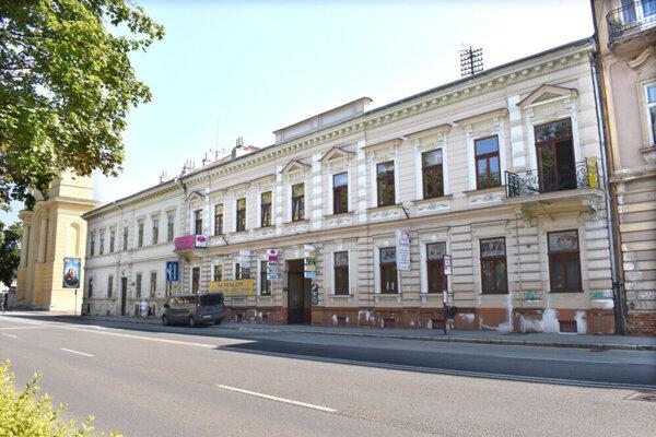 Moyzesova ulica v Košiciach.