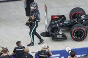 Lewis Hamilton vyhral kvalifikáciu na VC Ruska 2020.