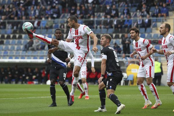 Zápas Bundesligy Arminia Bielefeld - 1. FC Kolín.