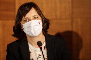 Podpredsedníčka vlády a ministerka investícií, regionálneho rozvoja a informatizácie Veronika Remišová.