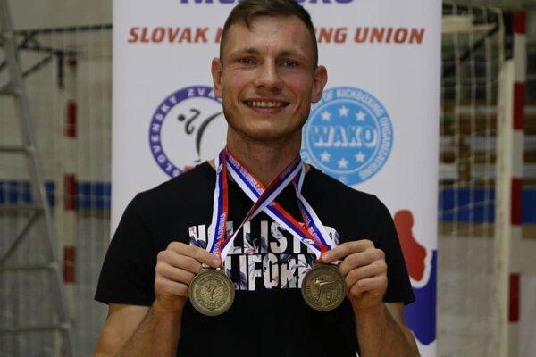 Dvojnásobný majster Slovenska Attila Garamszeghy ml.