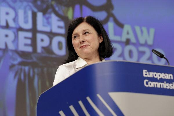 Podpresedníčka Európskej komisie Věra Jourová