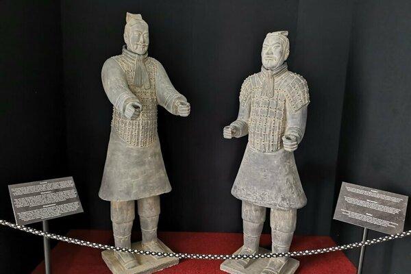 Výstava Terakotová armáda dorazila do Trebišova. Sprístupnená bude v múzeu do 6. januára.