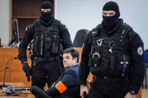 Marian Kočner na súde v kauze zmeniek.