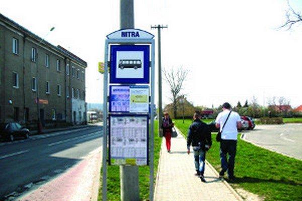 Na tejto zastávke nebudú zastavovať autobusy vyše dva týždne.