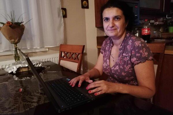 Autorka projektu Brekovskí Rómovia v toku času Elena Cinová.