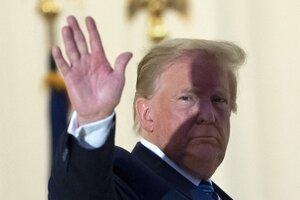 Trump po návrate do Bieleho domu.