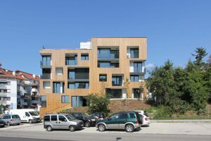 Bytový komplex Drotárska / Bratislava architekti: Michaela Hantabalová, Juraj Hantabal