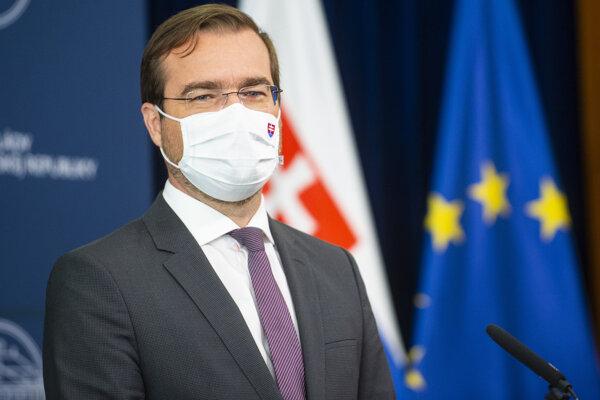 inister zdravotníctva Marek Krajčí (OĽaNO)