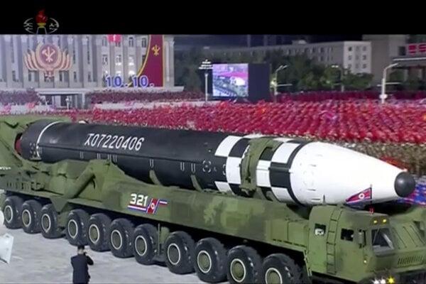 Nová balistická raketa.