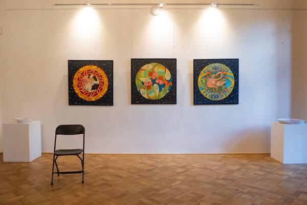 Výstava Andreja Augustína.