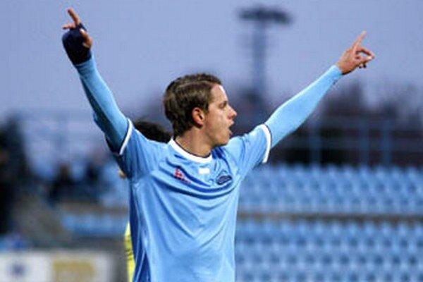 Matúš Paukner už má na svojom konte 19 gólov v aktuálnom ročníku II. ligy.