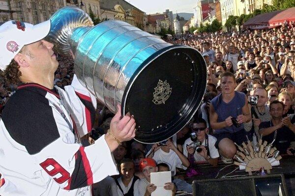 Jiří Bicek v roku 2003 doniesol do Košíc Stanley Cup.