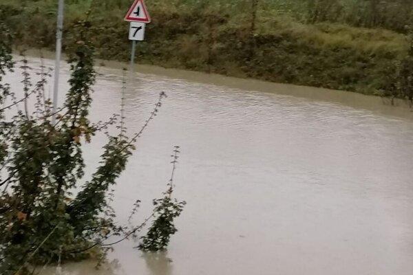 Povodne v Púchovskom okrese.