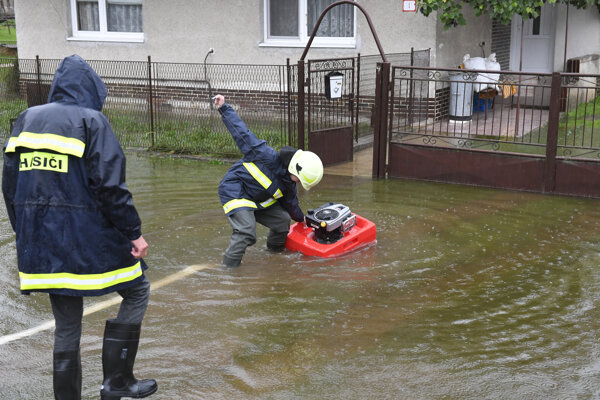 Jaklovce v okrese Gelnica, 13. októbra 2020.
