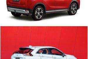Mitsubishi Eclipse Cross pred a po facelifte.