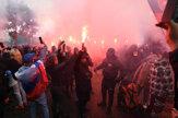 V Bratislave sa konal nepovolený protest, polícia použila aj vodné delo