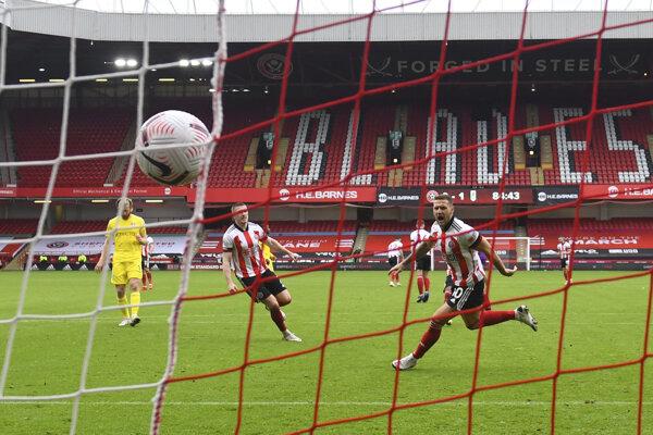 Zápas Sheffield - Fulham.