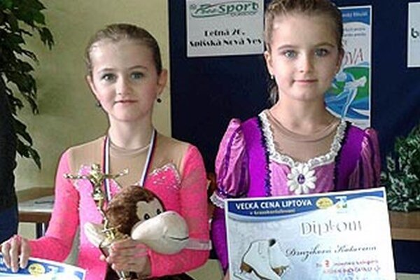 Lucia Bojdová (vľavo) a Katka Drnzíková z HK Kraso.