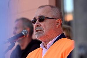 Prezident KOZ SR Marián Magdoško.