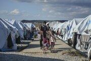 Život utečencov na Lesbose.