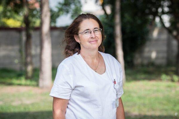 Zuzana Rennerová, prednostka Kliniky detskej pneumológie a ftiziológie Národného ústavu detských chorôb v Bratislave.