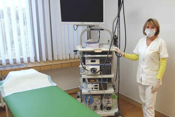 Nová gastroenterologická ambulancia v Leviciach.
