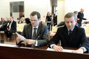 Verejné zasadnutie I. senátu Ústavného súdu v kauze nevymenovania Jozefa Čentéša za generálneho prokurátora v Košiciach v roku 2014.