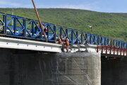 Práce na moste sa už skončili.