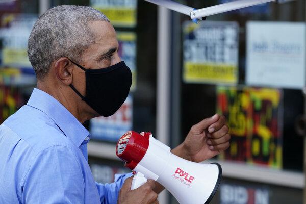 Americký exprezident Barack Obama.