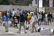 Demonštranti v Lagose.