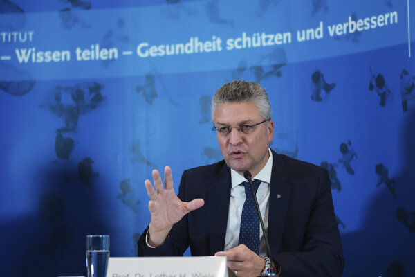 Lothar Wieler, šéf Inštitútu Roberta Kocha.
