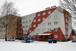 Hotel Nitra v Krškanoch.