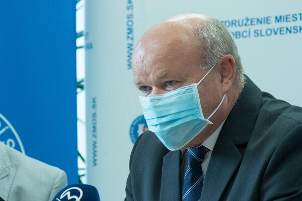 Predseda Združenia miest a obcí Slovenska Branislav Tréger.