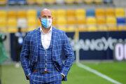 Ivan Kmotrík ml. v zápase DAC Dunajská Streda - Slovan Bratislava.