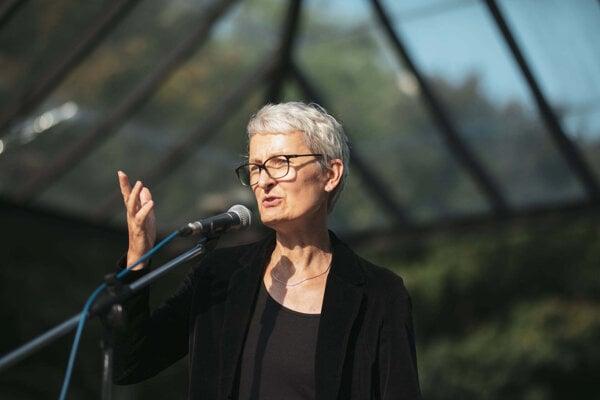 Nemecká veľvyslankyňa Barbara Wolfová prišla na Slovensko v auguste 2020.